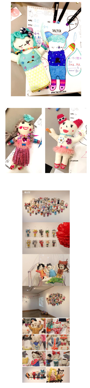 쿠마인형 - 더펀즈, 6,500원, 퀼트/원단공예, 인형 패키지